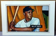 1989 BOWMAN TIFFANY INSERT WILLIE MAYS NEW YORK GIANTS HOF