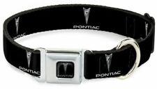 Dog Collar Seat Belt Licensed Pontiac Logo WPO001