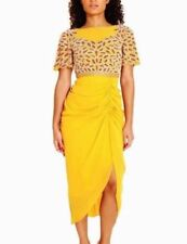 Asymmetric Dry-clean Only Floral Dresses for Women