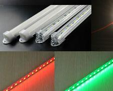 Profilo barra alluminio striscia LED RGB 1 metro  smd 5050 ALTA QUALITA