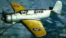 SB2A Buccaneer Brewster USA Bomber Airplane Mahogany Kiln Dry Wood Model Small
