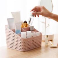 5 Grids Desktop Office Storage Box Case Cosmetic Organizer Stationery Basket SWA