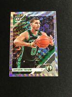 Jayson Tatum 2019-20 Donruss Optic Fanatics Silver Wave Prizm SP SHARP PSA 10?