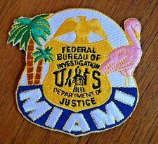 FBI SWAT team police patch