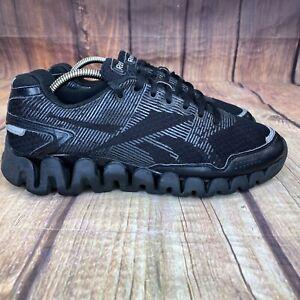 Reebok ZigTech Running Shoes Men Size 8.5 Athletic Shoes J91527 - Black