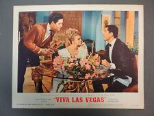 VIVA LAS VEGAS LC #3 '64 great scene with Elvis, Ann and Cesare Danova,  MINT