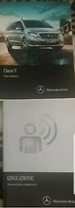 Notice manuel D'utilisation Mercedes  classe V edition 2017