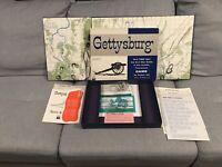 Vintage  GETTYSBURG CIVIL WAR BATTLE Board Game- Avalan Hill 1964 -100% Complete