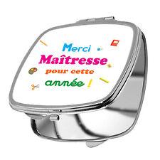 MIROIR DE POCHE - MERCI MAÎTRESSE POUR CETTE ANN2E - ECOLE MATERNELLE PRIMAIRE