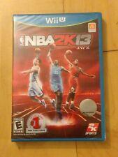 NBA 2K13 (Nintendo Wii U, 2012) Brand New Factory Sealed - Rare
