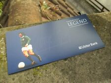 NEW Ulster Bank - George Best Legend - £5 Five Pounds Note Holder Wallet ONLY
