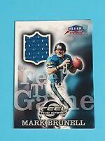 Mark Brunell Jersey Jacksonville Jaguars 1999 Fleer Focus Feel the Game