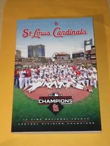 Brand NEW St. Louis Cardinals 2020 Media Guide STL Yearbook RARE  Carlson Molina