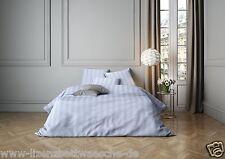 Mistral Home Bettwäsche Satin Stripe hellblau 2 x 80x80 + 2 x 135x200cm = 4tlg