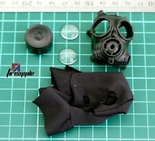 1/6 Scale SAS Gas Mask Biohazard Storm Trooper With Bag SWAT Riot Police