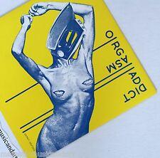 "ORIGINAL 1977 LINDER STERLING ART COVER ORGASM ADDICT 7"" VINYL N.MINT RARE"