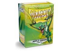Dragon Shield Matte Apple Green Card Protector Sleeve 100ct MTG Pokemon Atm11018