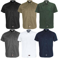Dickies Short Sleeve Work Shirt Herren-Hemd Kurzarmhemd WS576 Slim Fit