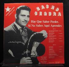 Nacho Segura - Hay Que Saber Perder Si No Sabes Aqui Aprendes LP VG+ Record