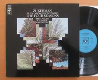 CBS 73097 Zukerman Plays & Conducts Vivaldi Four Seasons English Chamber Orch NM