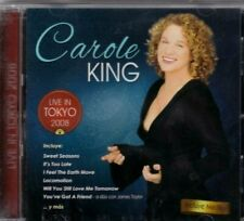 CAROL KING  Live in Tokyo rare cd made in Chile new and sealed