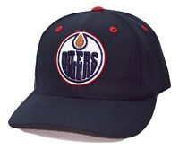 Edmonton Oilers PUMA Team Apparel NHL Team Logo Adjustable Hockey Cap Hat