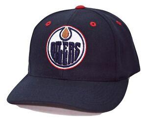 Edmonton Oilers PUMA Team Apparel NHL Team Logo Adjustable Hockey Cap Hat
