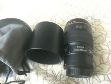 Canon EF 100mm F/2.8 L IS USM