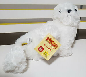 WILD REPUBLIC HARP SEAL PLUSH TOY SOFT TOY WITH TAGS 25CM!
