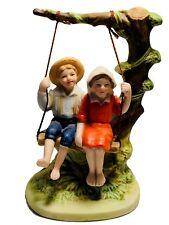 """Summer Fun"" Figurine -1983, Nrm, Inc.by Norman Rockwell - 4 inch tall Tabletop"