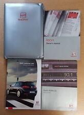 SEAT LEON HANDBOOK OWNERS MANUAL WALLET 1999–2006 PACK  D-794