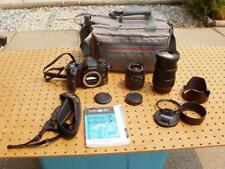 MINOLTA MAXXUM 7 SLR FILM CAMERA + TAMRON AF IF 28-200mm LENS SIGMA 28-80mm +++