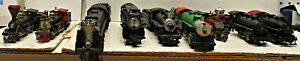 ATM PEMCO AND OTHERS STEAM LOCOMOTIVES HO SCALE 9 LOT (NO BOXES)