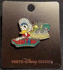 Rare Tokyo Disneyland Seven Land Attraction Series Toontown Donald Duck Pin