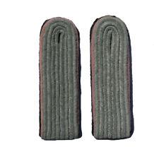 German WW2 Elite Unit Leutenant-Captain ranks.Pink Wool piping