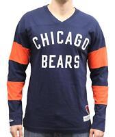 """Chicago Bears Mitchell & Ness NFL """"Field Goal"""" Men's Heavyweight L/S Shirt"""