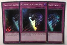 Yu-Gi-Oh! DASA-EN010 - 3 x Vampire Awakening - 1st edition - Super Rare