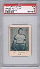 1951 Laval Dairy Lac St. Jean Hockey Card #25 M. St. Jean Graded PSA 5