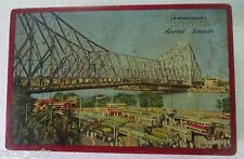 Vintage BISCUITS Tin box Calcutta Howrah Bridge Automobile J B MANGARAM'S 1970