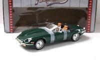 1:18 Road Signature Jaguar E-Type Roadster 1971 green NEW bei PREMIUM-MODELCARS