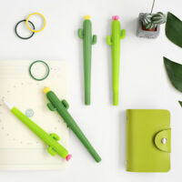 2pcs/lot 0.5mm Cactus Shape Cute Ballpoint Pens Office Student Stationery Prize