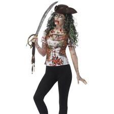Costumi e travestimenti vestiti in poliestere per carnevale e teatro unisex, tema pirati