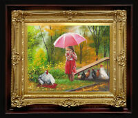 "ORIGINAL Oil Painting Handmade Arseni ~ SAVIOR 10"" X 8"" NO FRAME Artist Art"