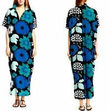Marimekko for Target Sz S/M Blue Floral Kaftan
