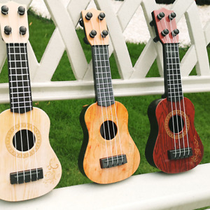 Mini Guitar 4 Strings Classical Ukulele Guitar Toy Musical Instruments for Kids