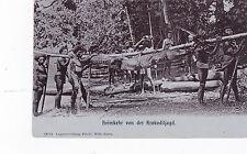K 700 - Deutsch-Neuguinea, Heimkehr von der Krokodiljagd, ungelaufen