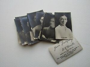 D.C Thompson 1923 Footballers Signed Real Photos Card Variants (ef9)