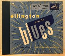 "Duke Ellington And His Famous Orchestra Plays The Blues 4X10"" Shellac Album Rare"