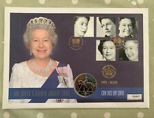 Stamp/Coin Cover - 2002 - The Queens Golden Jubilee & £5 Coin