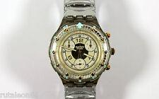 SWATCH SCUBA AQUACHRONO SEM100 original Swiss made quartz watch. New old stock